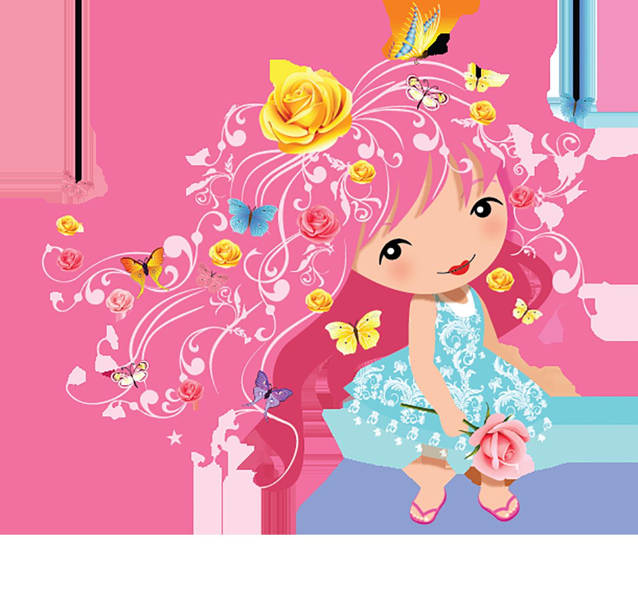 Blossom Garden Doll - Rose