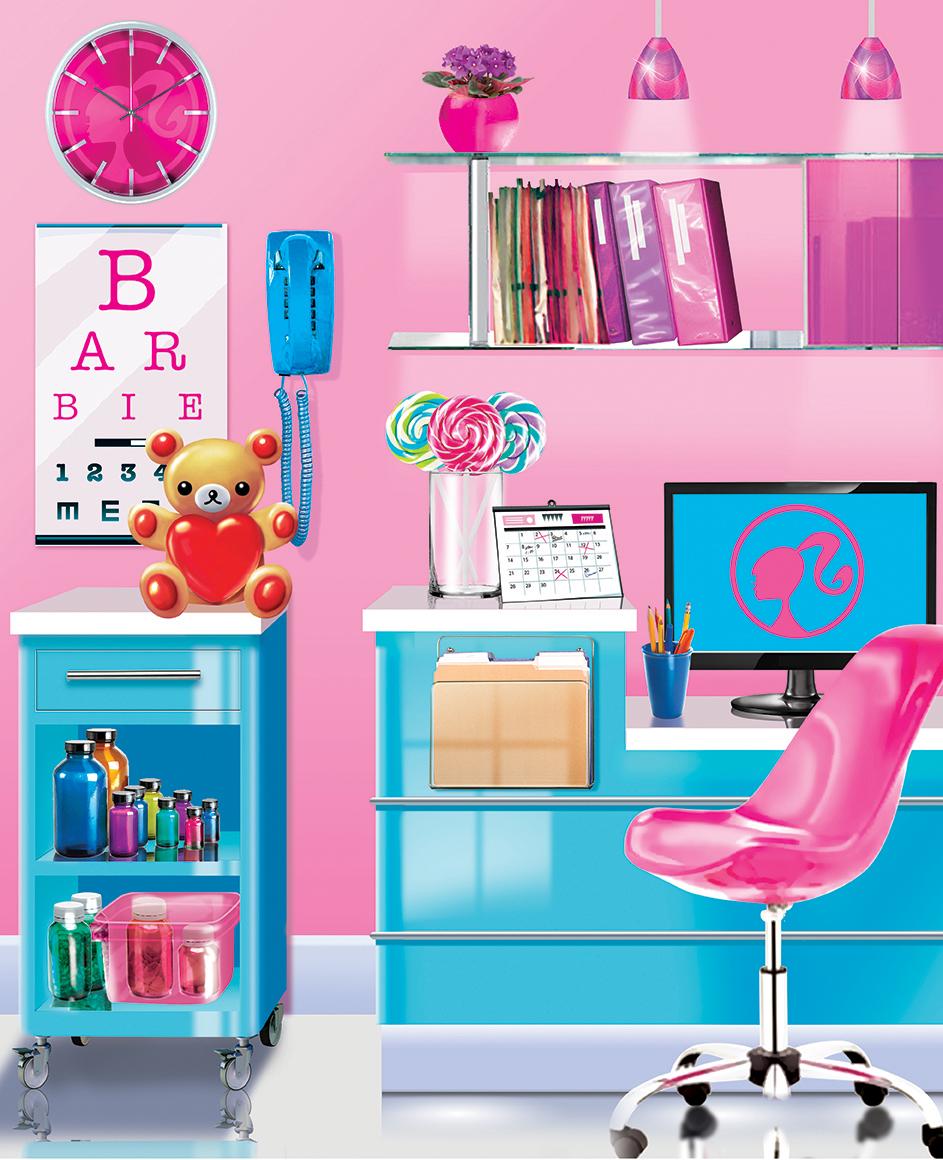 Barbie - Exam Room Insert