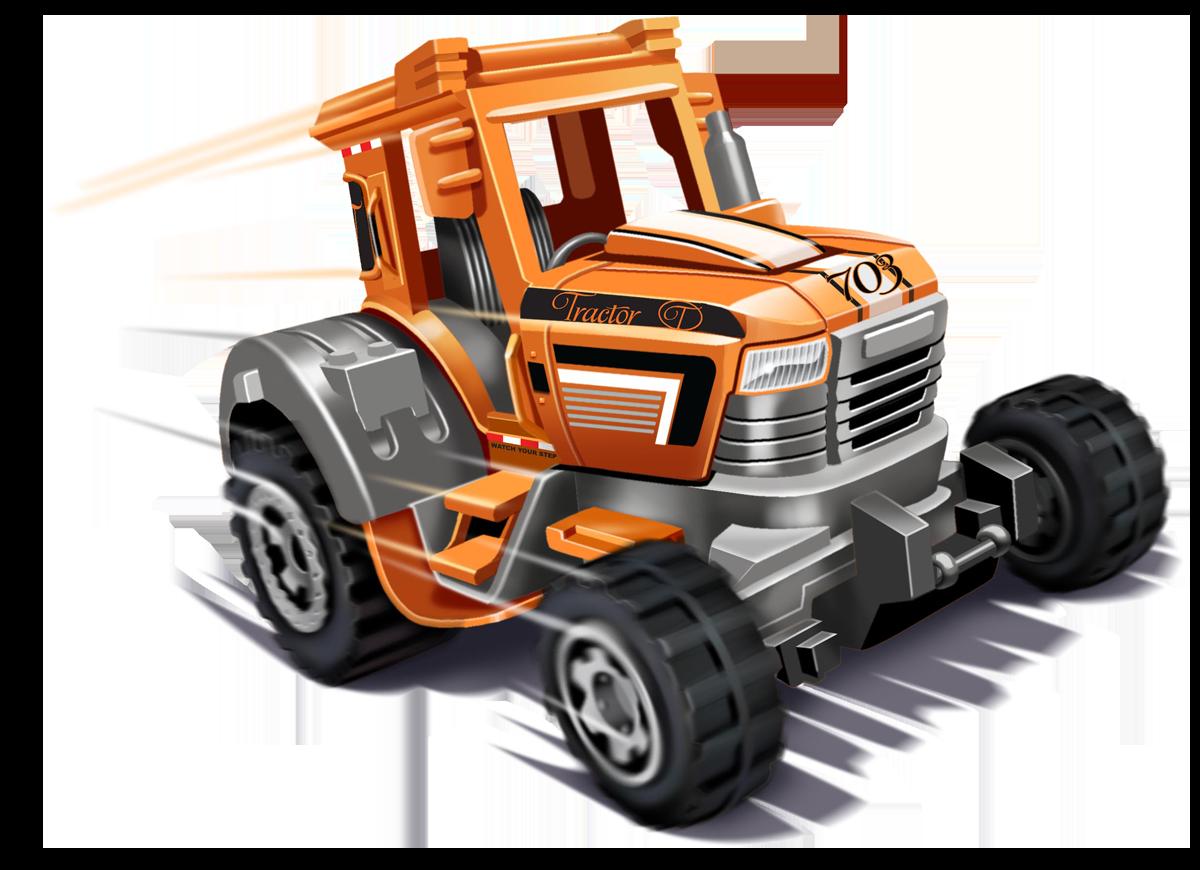 Matchbox - Tractor