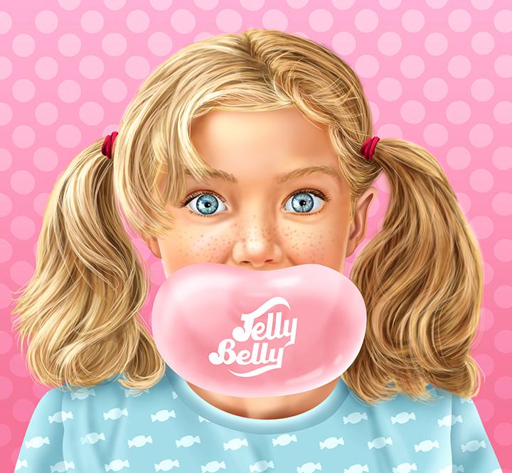 Jelly Belly Girl