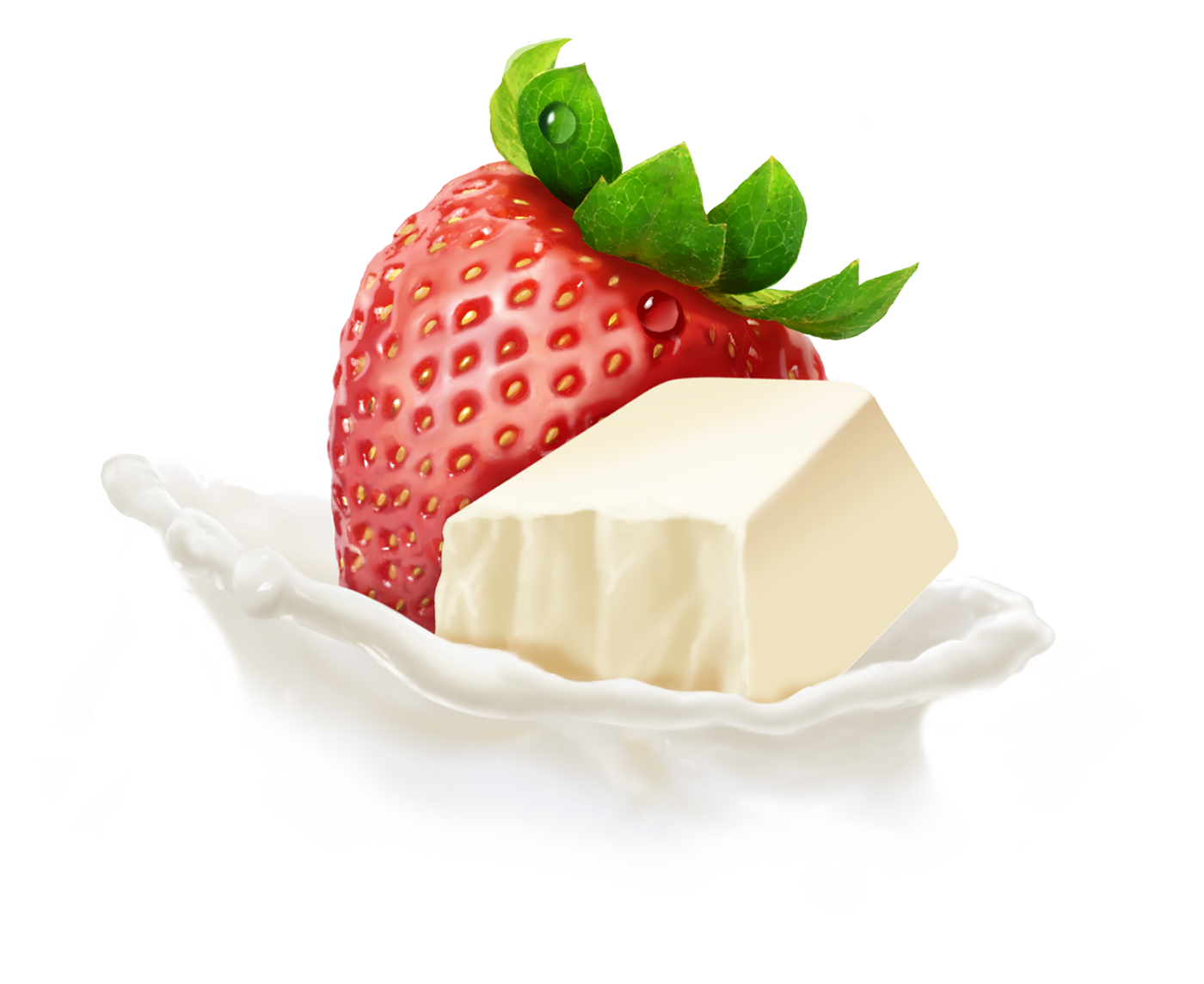 Yoplait Strawberry White Chocolate