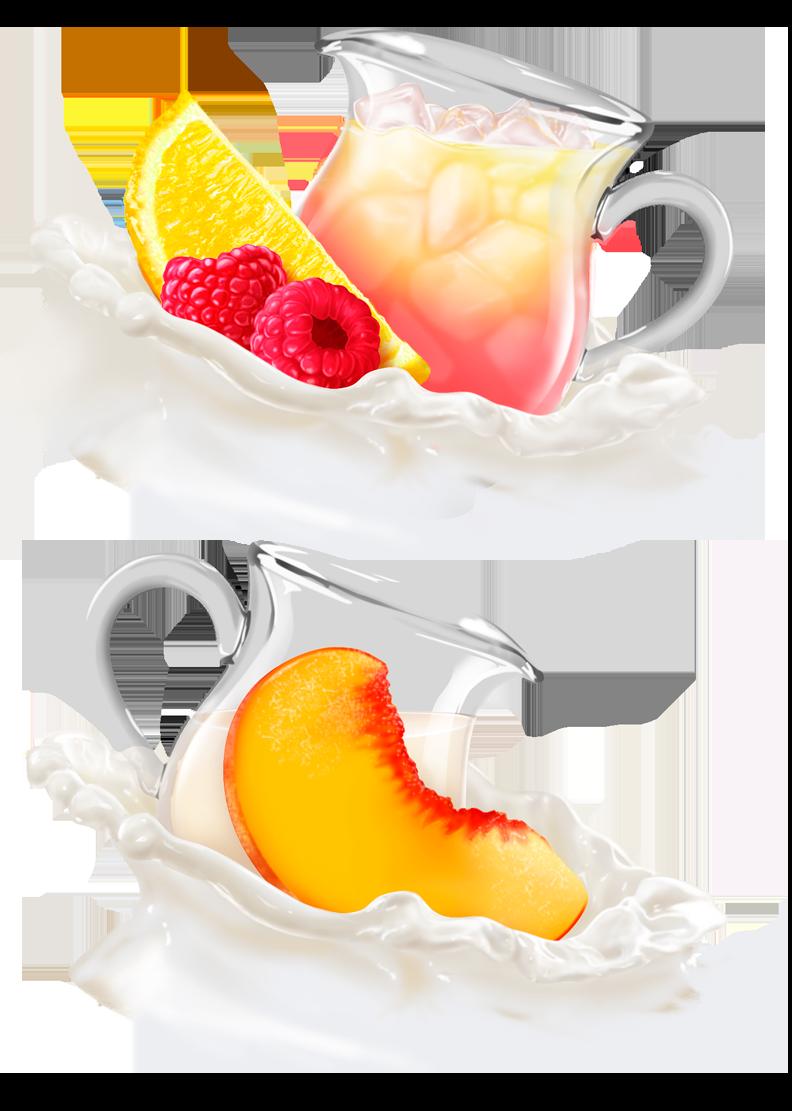 Yoplait Fruit and Cream