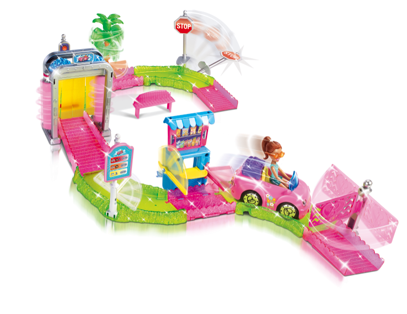 Barbie - Car Wash Playset   All Rights Reserved Mattel©
