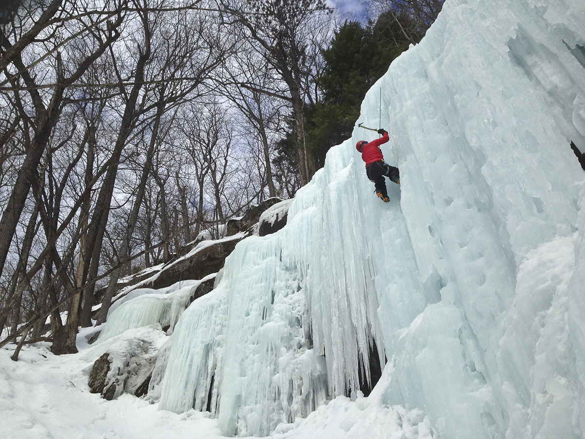 YMC Ice Climbing Trip 2015 - White Mountains, NH