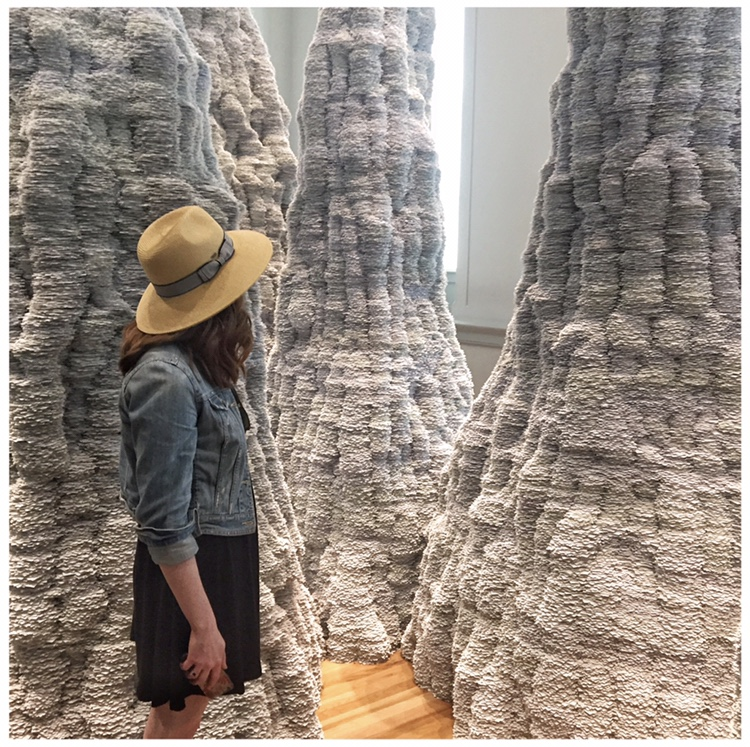 Taking in the wonderfully creative exhibits at the Renwick Gallery in Washington D.C