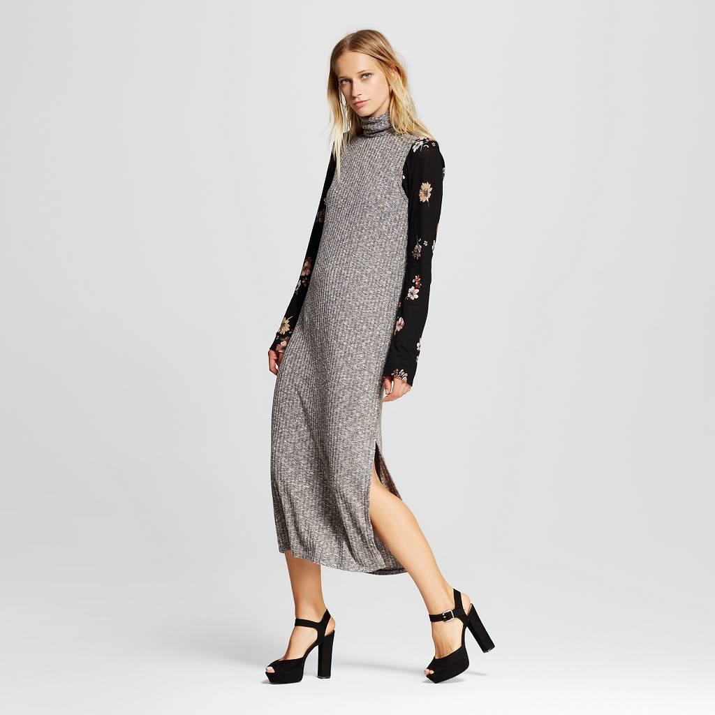Gray Sleeveless Turtleneck Dress.jpeg