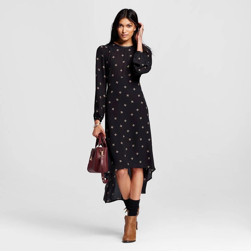 Long Sleeve Crepe Dress.jpeg
