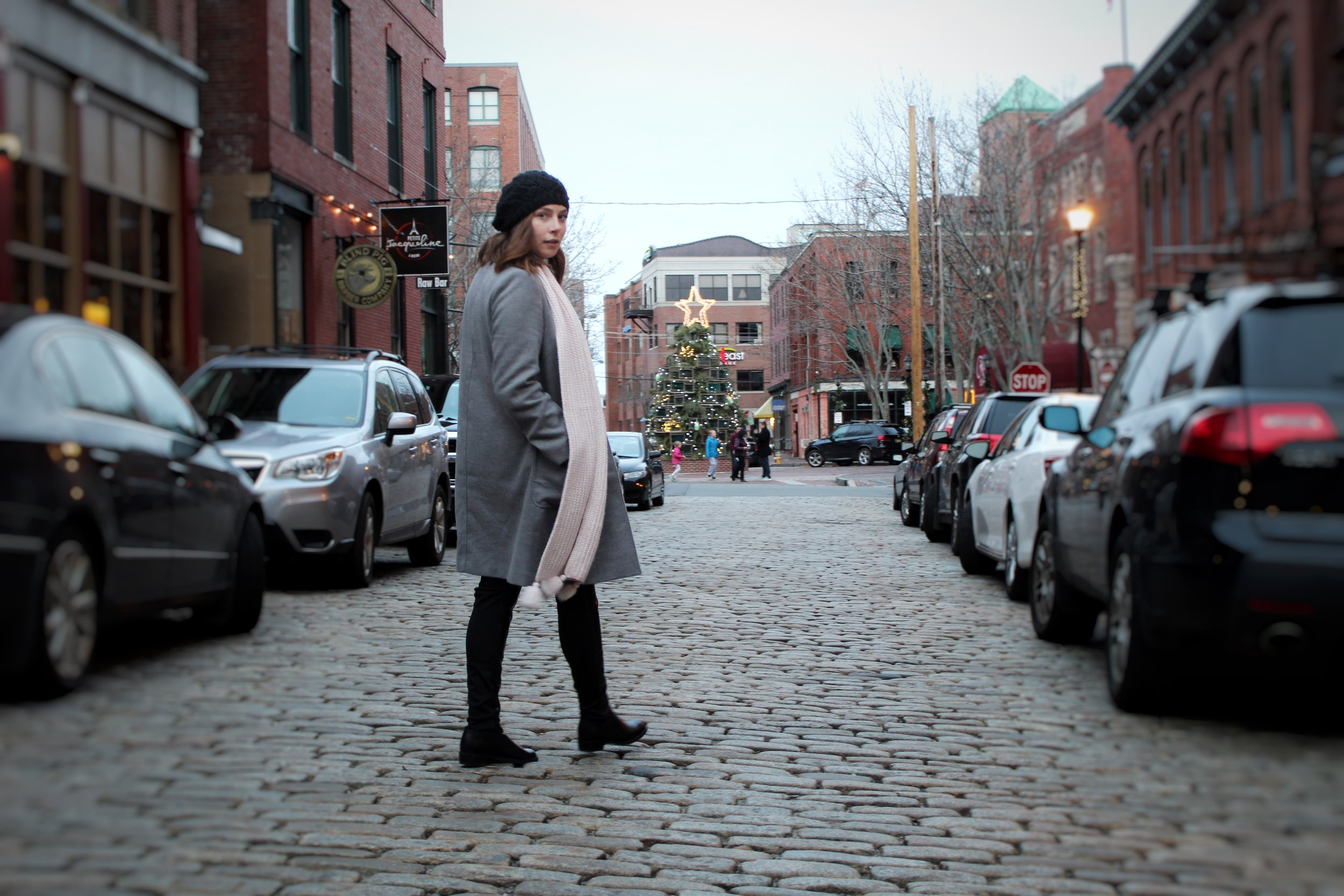 The old cobblestone streets make the Old Port neighborhood that much more charming! Be sure to pack comfortable, flat shoes though :)