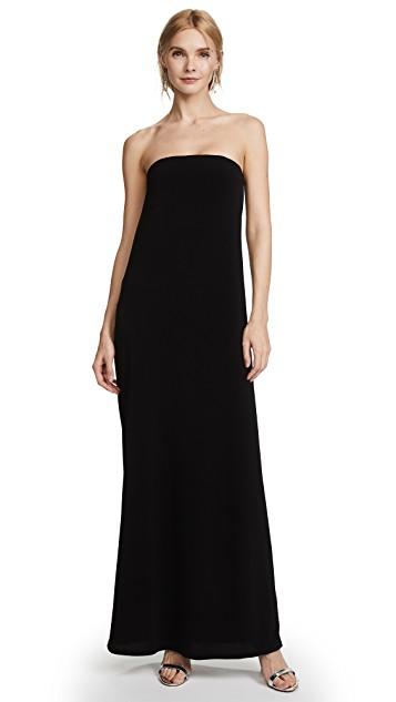 Rachel Zoe blakc strapless dress.jpg