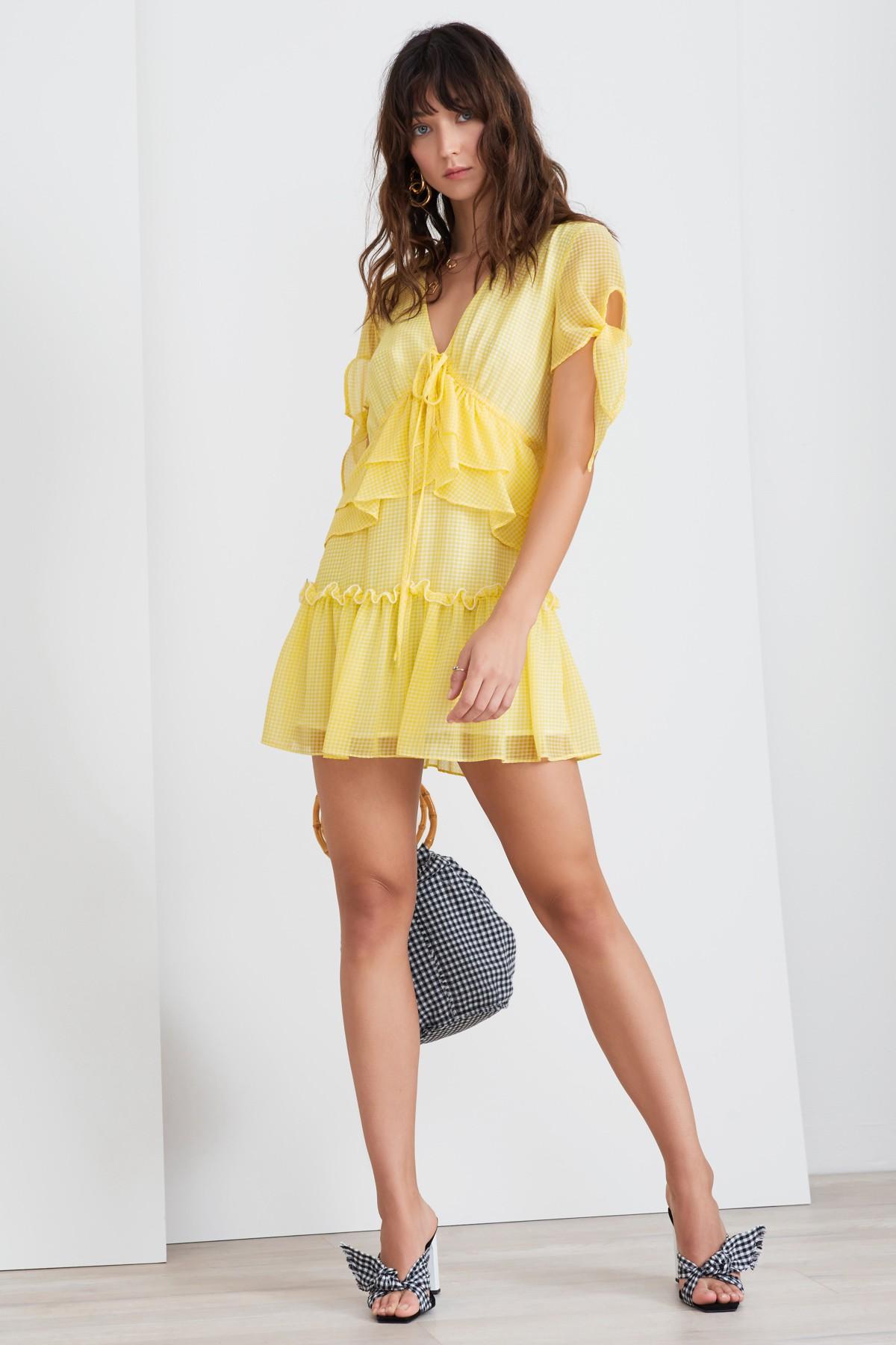 Horizons Short Sleeve Dress Lemonade.jpg