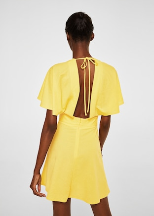 Mango Scoop-back bodycon dress .jpg