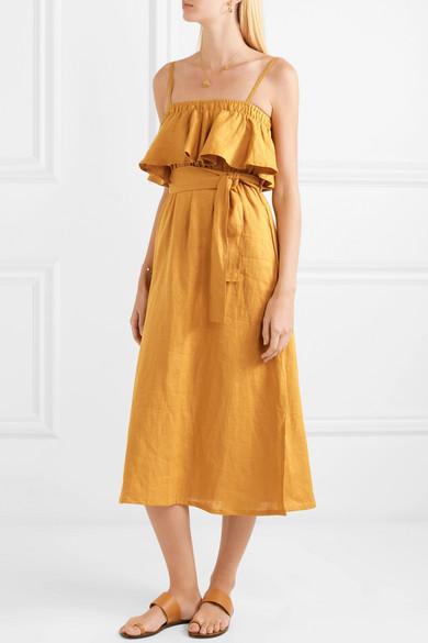 Faithful the Brand Santro Ruffle Dress.jpg