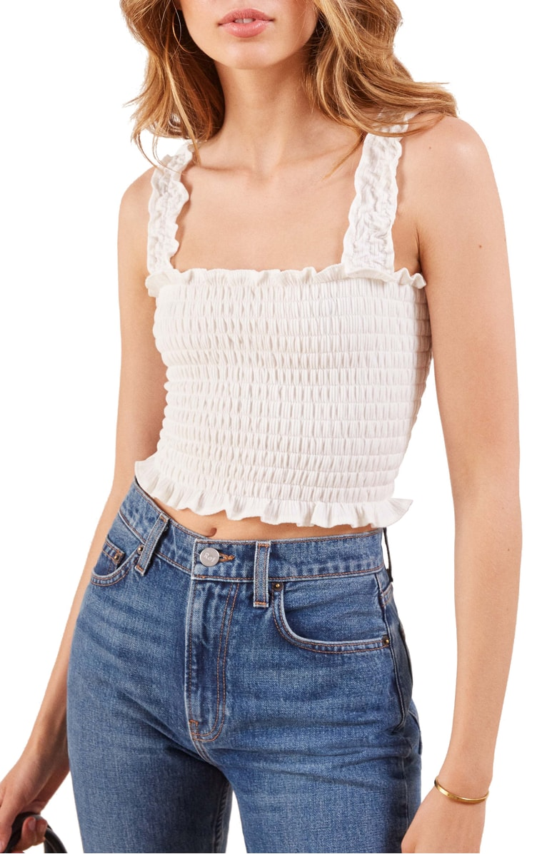Reformation Leonore Smock Crop Top.jpg