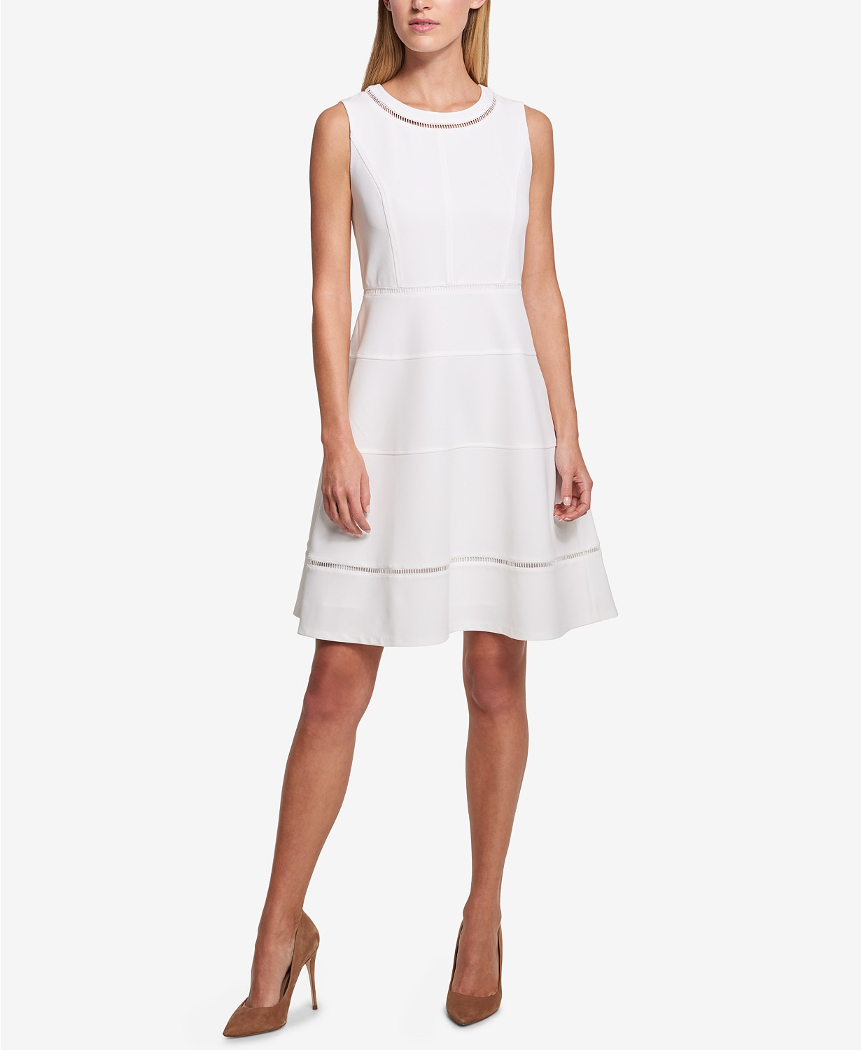 Tommy Hilfiger Scuba Crepe Dress.jpeg