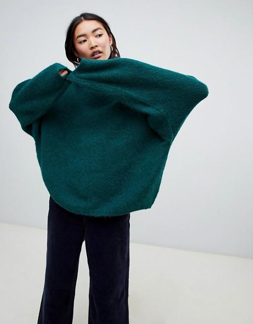 Weekday oversized roll neck sweater asos.jpeg