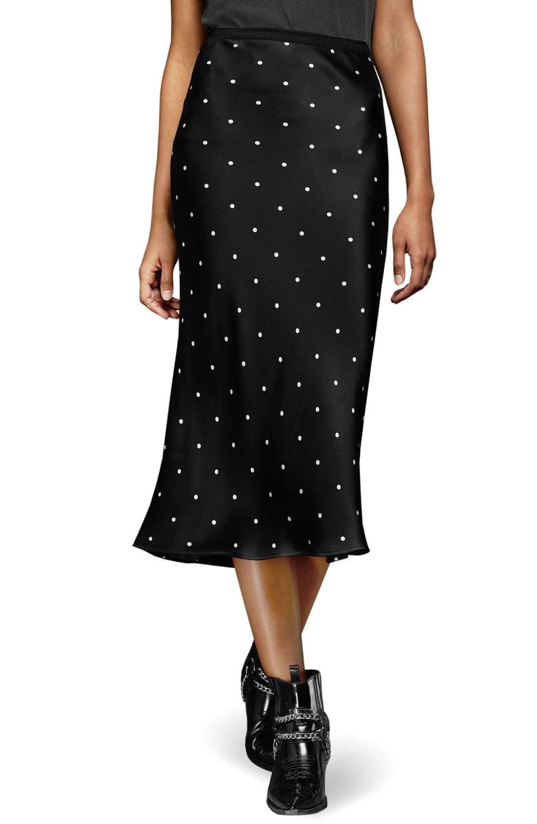 Anine Bing Polka Dot Silk Skirt.jpeg