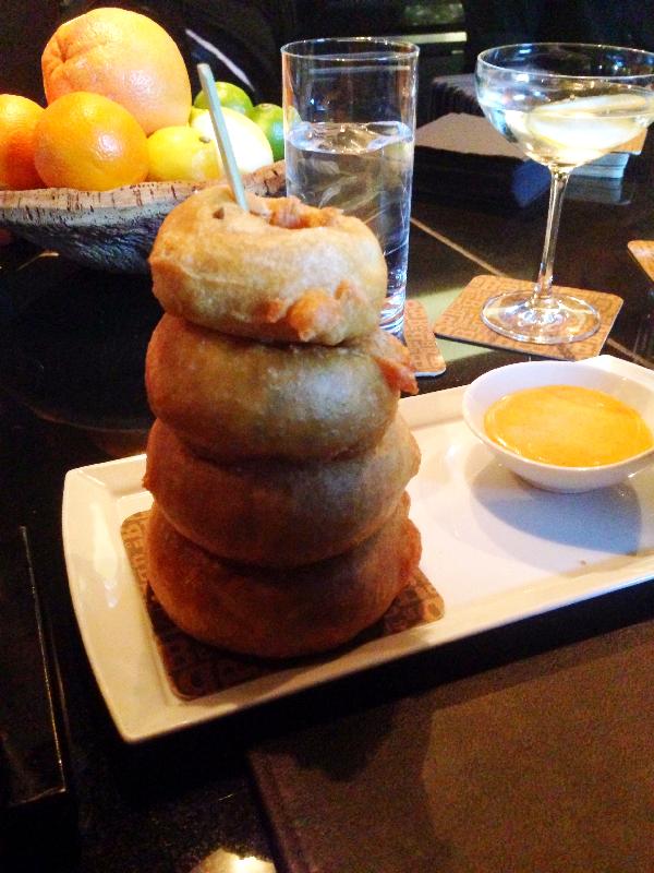 Fried Onions Pyramid
