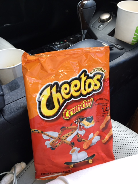 Favorite road snack!