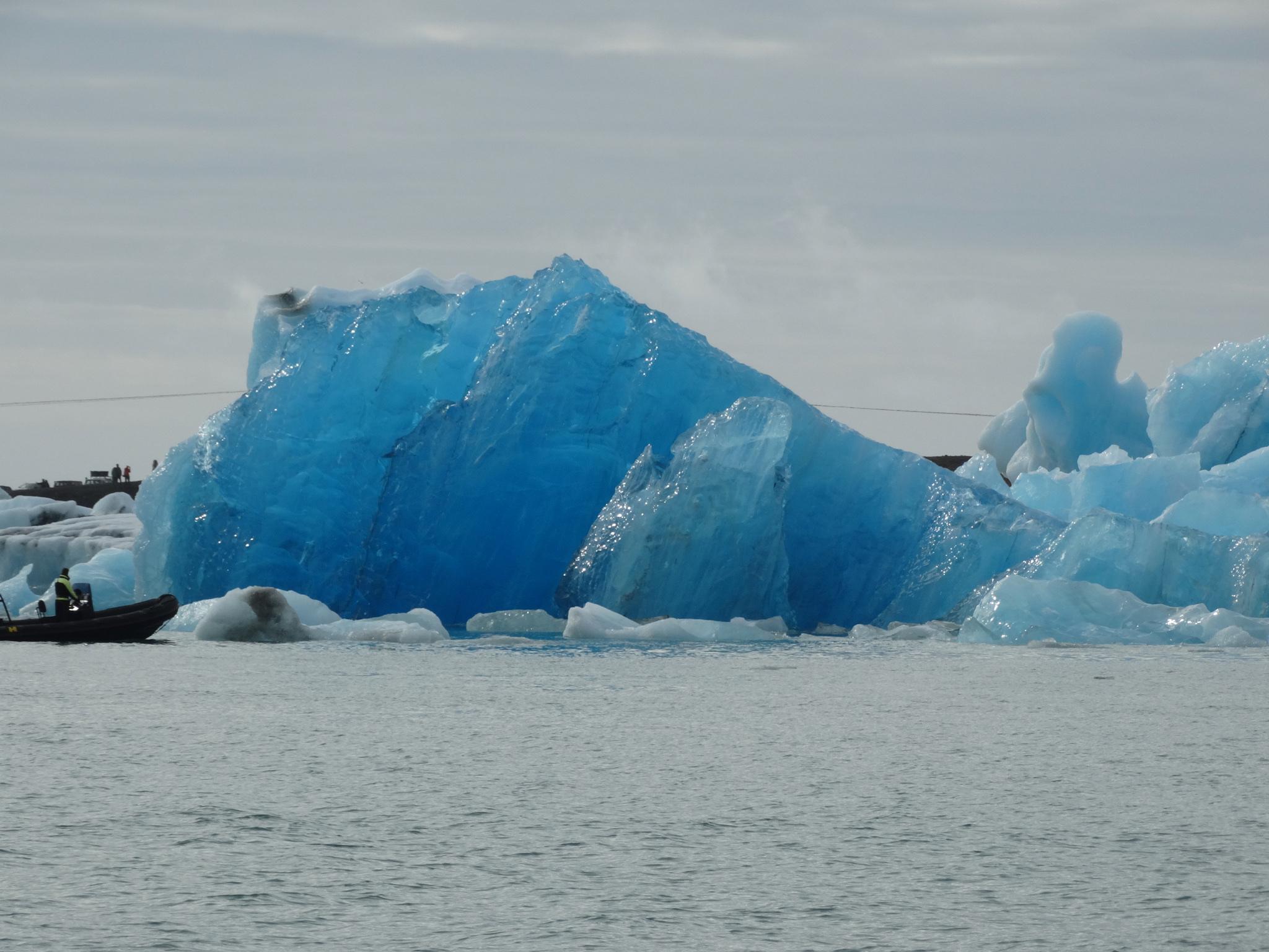A Glacier in Iceland