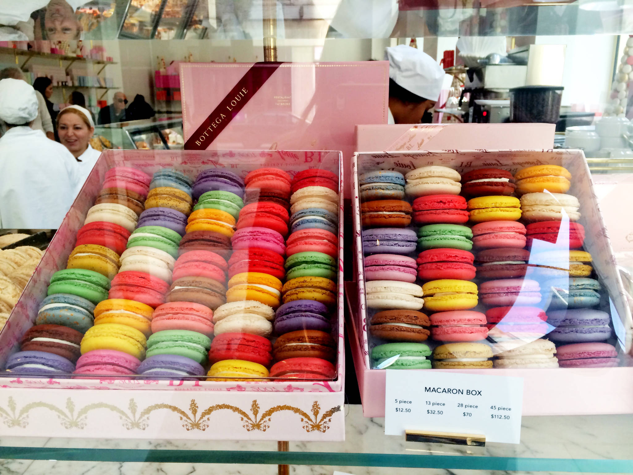 Macaroons at a sweet shop, DTLA