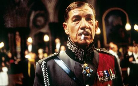 Sir Ian McKellan as Richard III.
