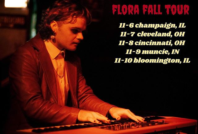 on the road again 🍁 catch us in a city near you this fall!! spooky season with Flora is going well into November this year 🎃