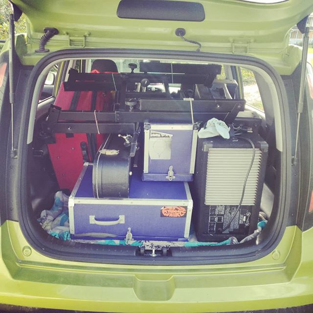 Every show I play, my car gets more full. I dont understand how this happens.  #BEyonder #livemusic #chicago #chicagomusic #madloops #packedtothebrim  #showday #timetomakesomenoise