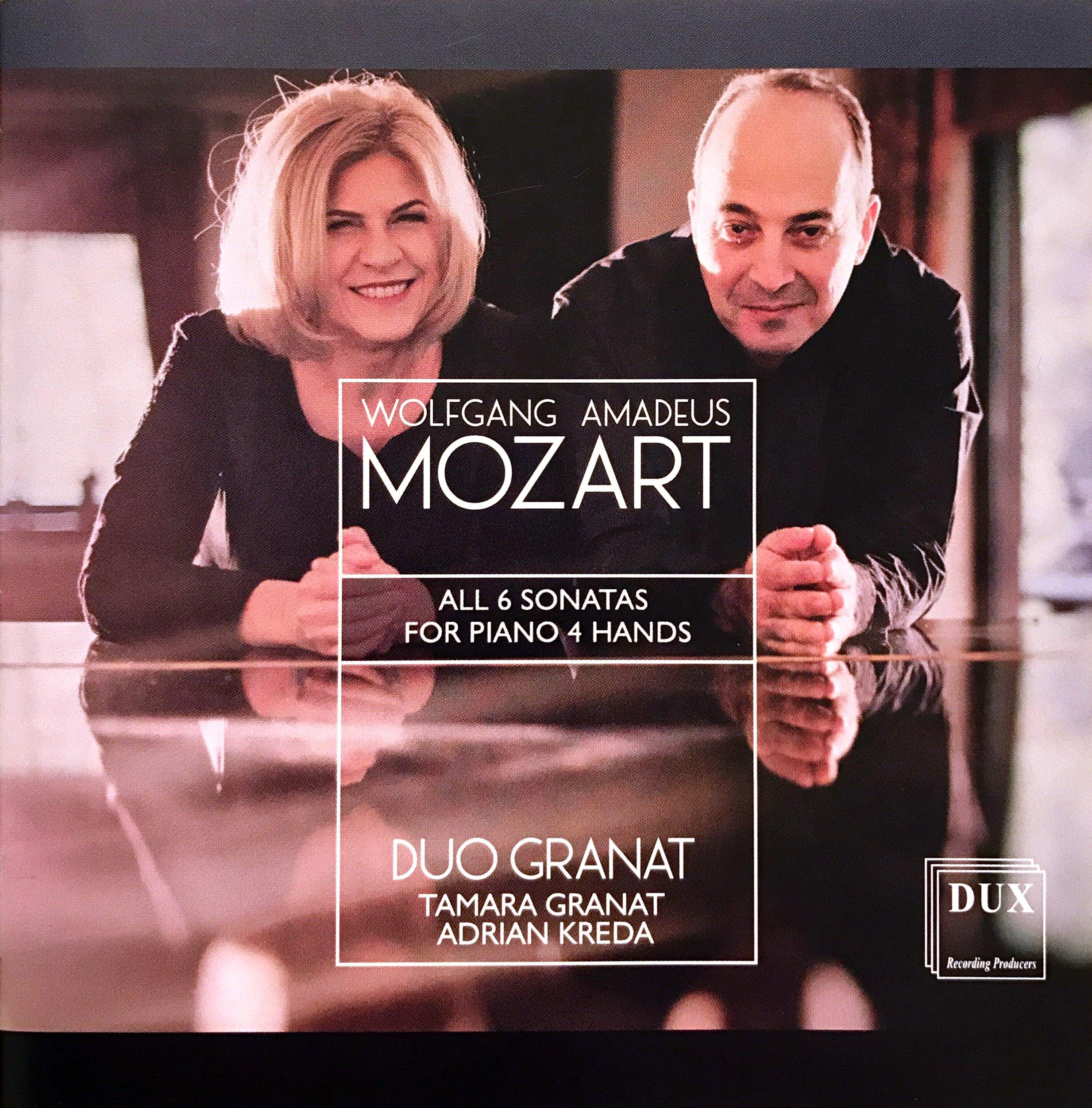 Mozart - Complete Piano Sonatas for 4 Hands