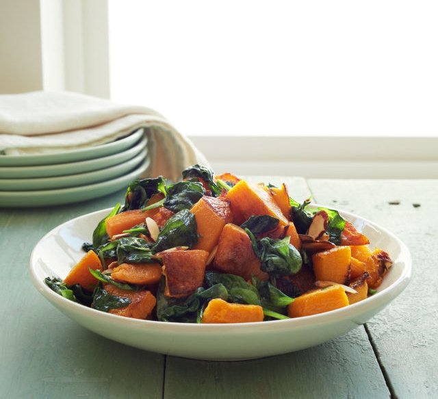 Click here  for this delish butternut squash recipe.