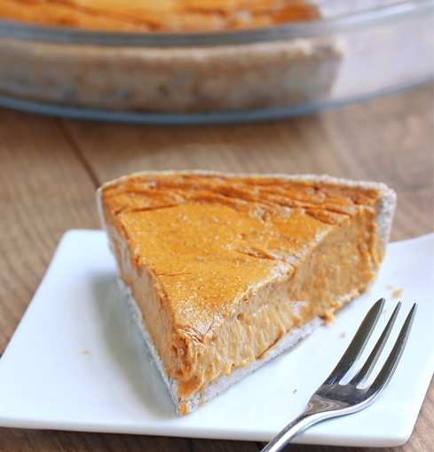 Click here  for this yummy and healthy coconut pumpkin pie recipe.