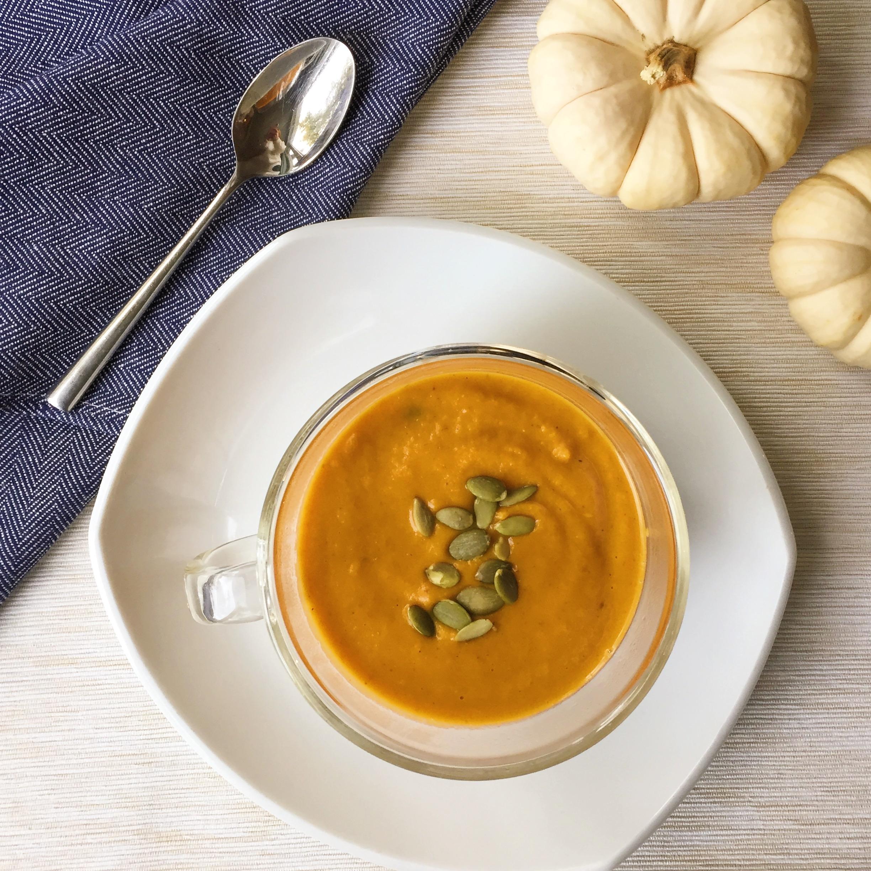 Spicy Thai Pumpkin Soup