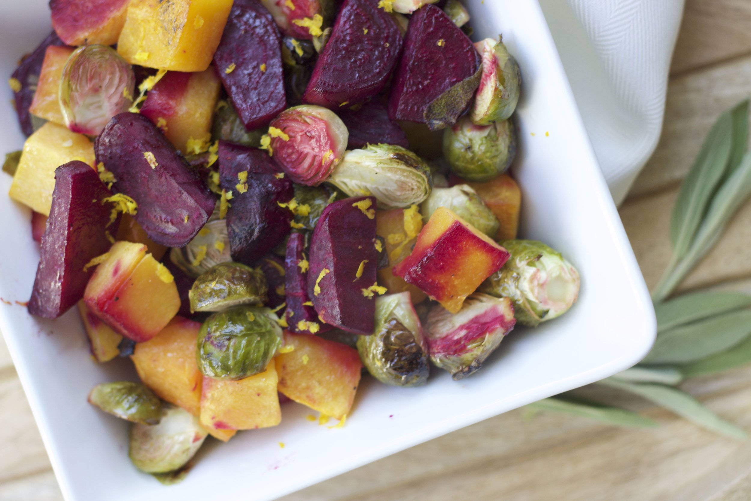 This bright vegetable melody recipe is included in your guide.