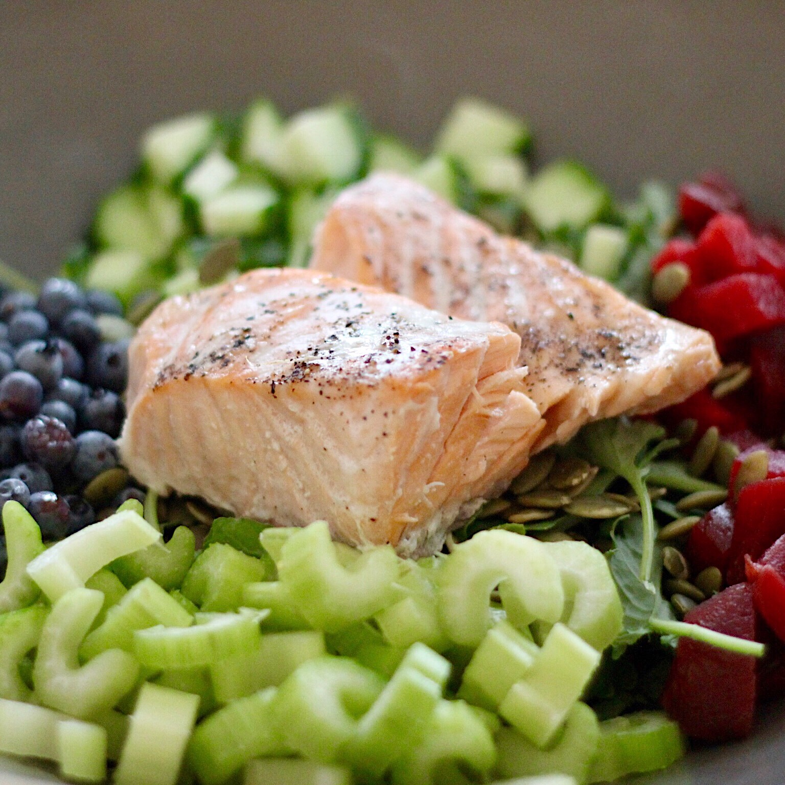 Kale Salmon Salad