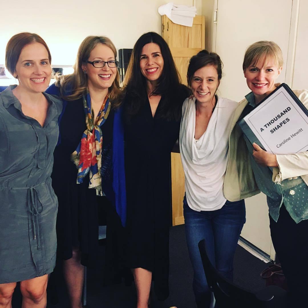 With Autumn Dornfield, Dee Nelson, Devon Caraway & Caroline Hewitt backstage.
