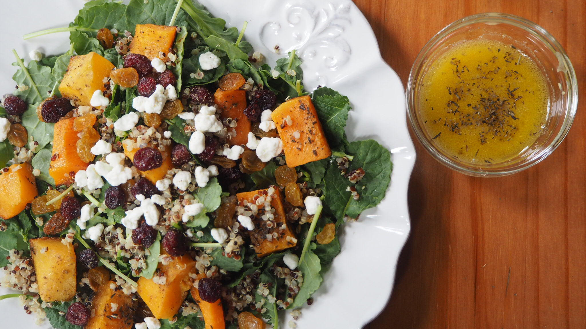 Fall Salad with Sel Marin