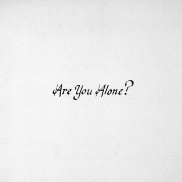 Majical Cloudz Are You Alone Album Cover