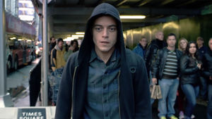 Scene from Mr. Robot on USA Network