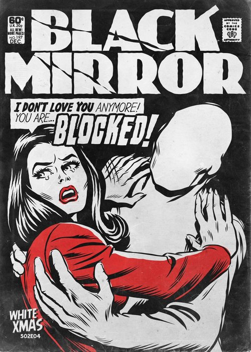 White Christmas Black Mirror Poster.Post On Pirate Satellite Us Indie Music And Television Blog