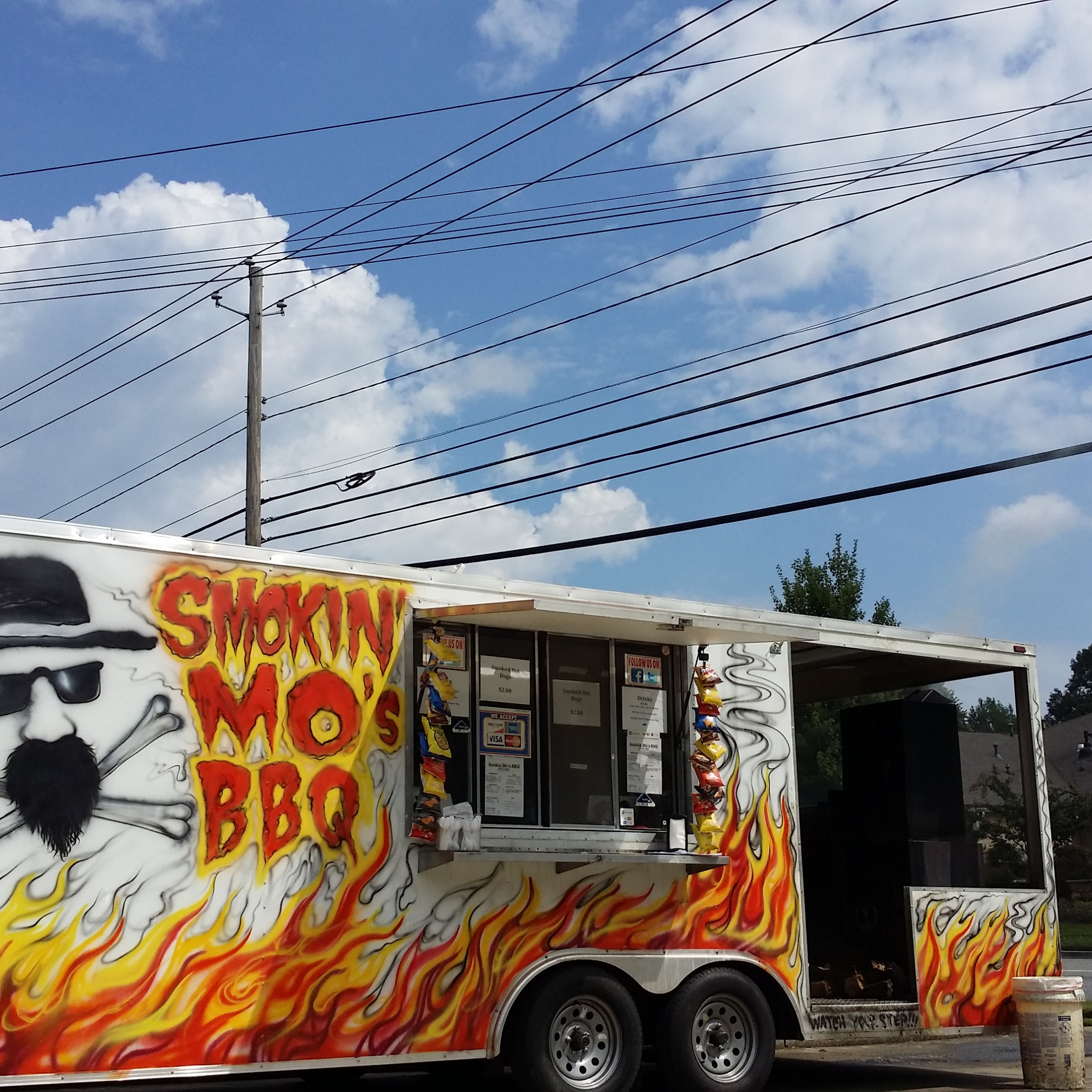 The Smokin' Mo's Truck