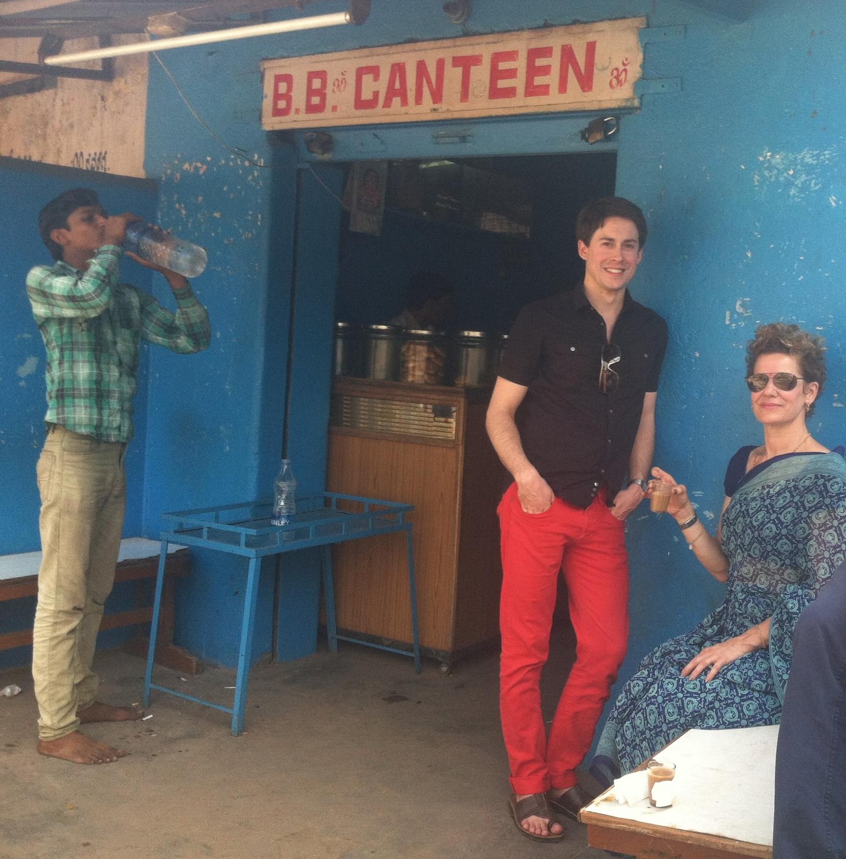 My first trip to Mysore, India. Kiki's 13th? trip.
