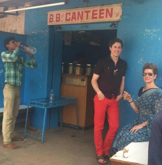 Me and Kiki, B.B. Canteen, Laxmipuram, Mysore, India