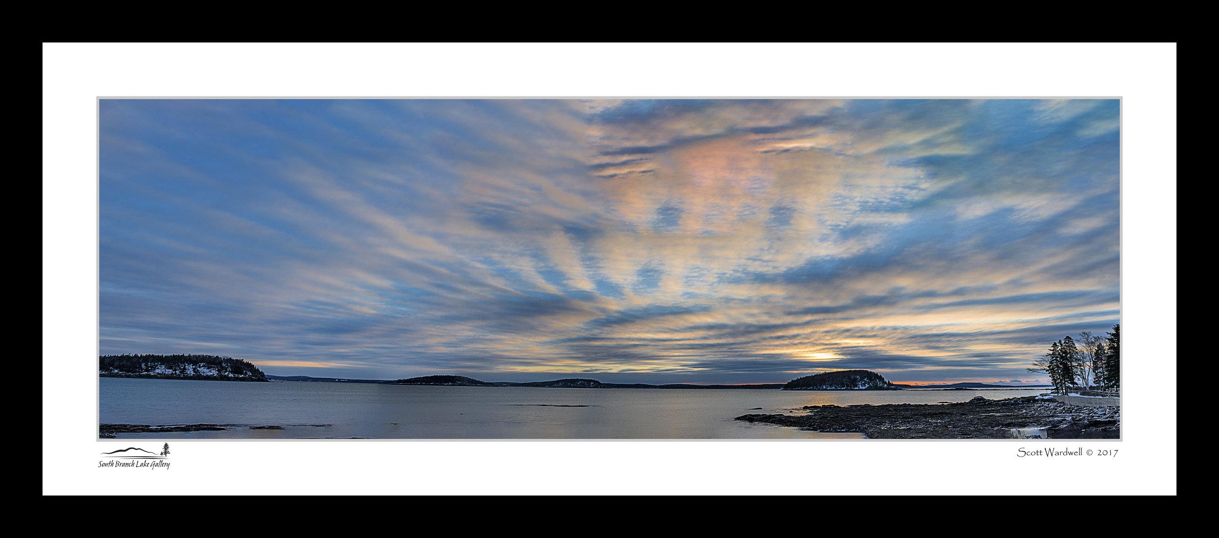 Frenchman Bay Sunrise - 3-17-17