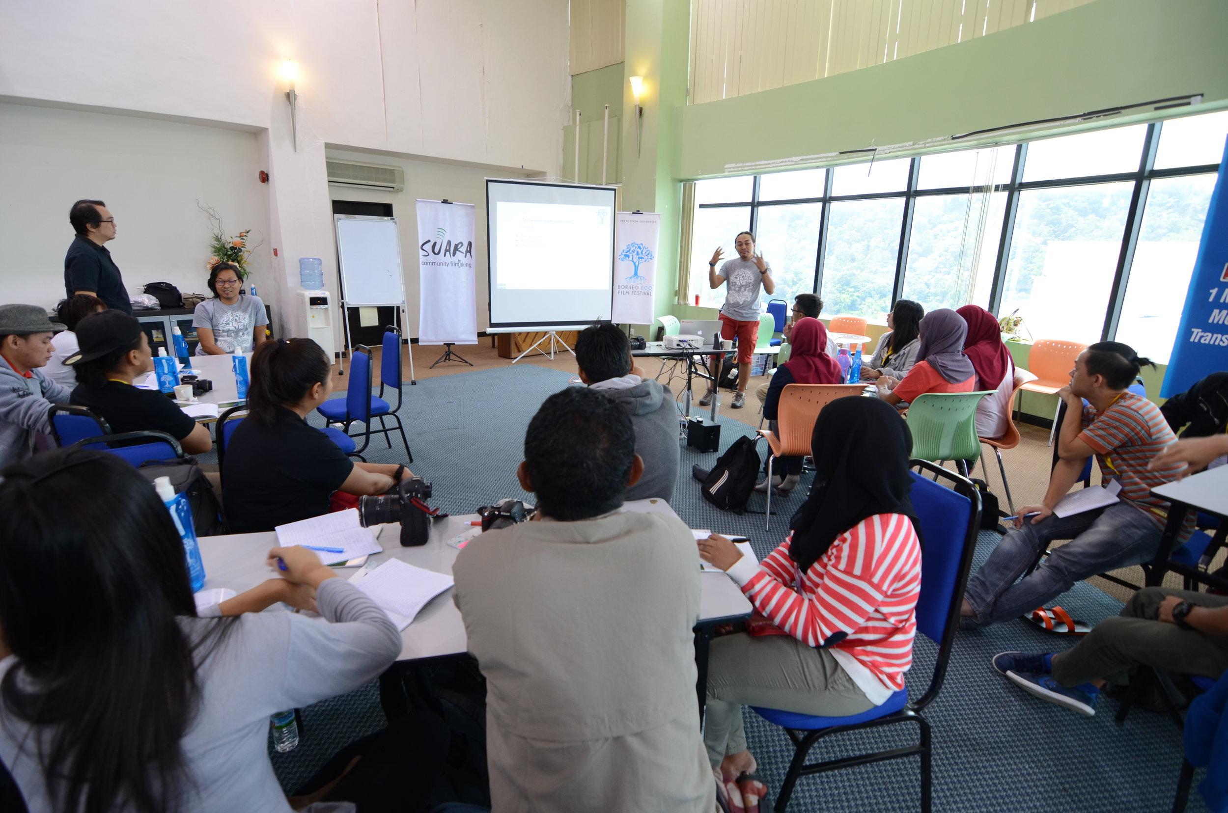 Suara Community Filmmaking Workshop