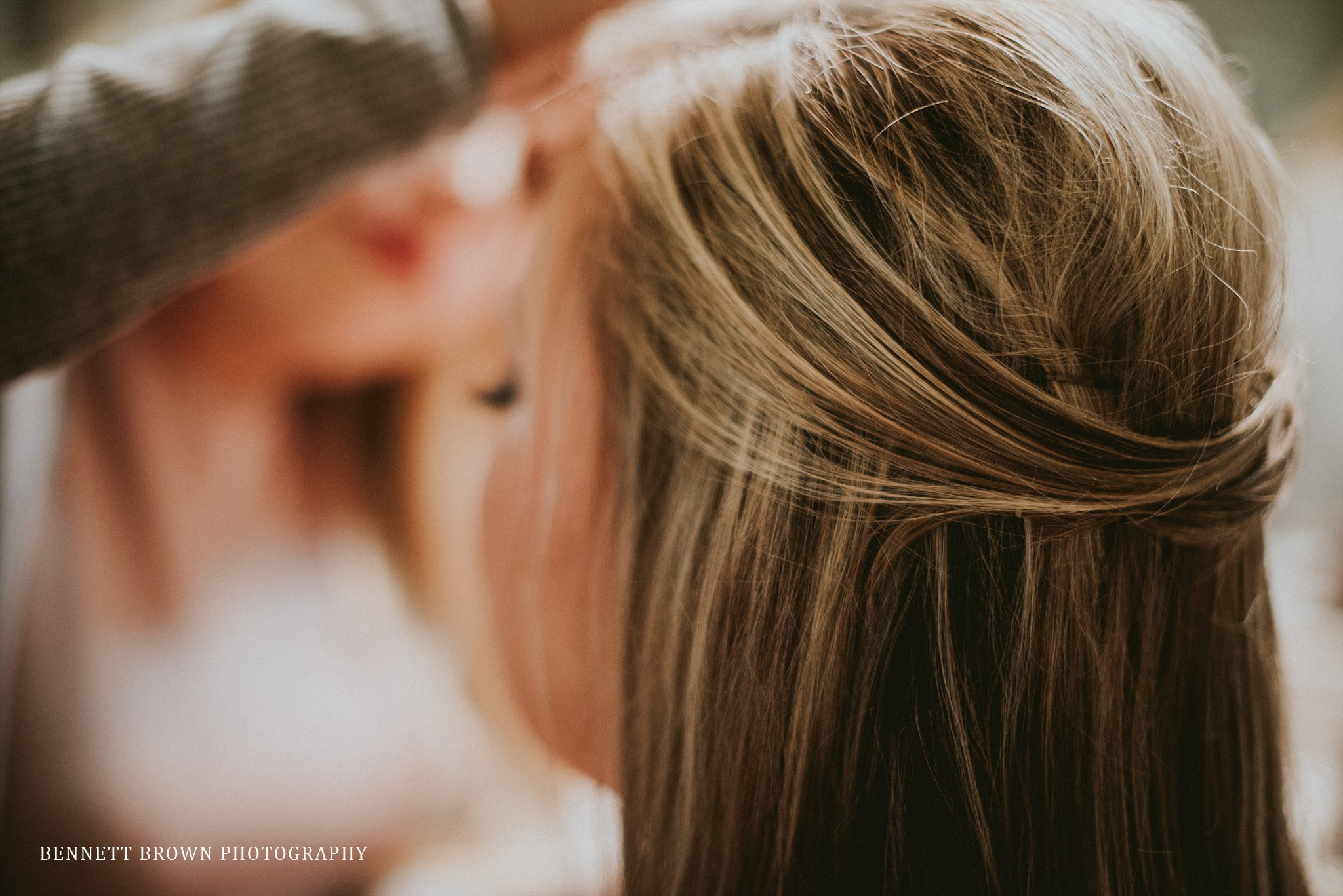 Bridal hair Wedding Inspiration Bennett Brown photography