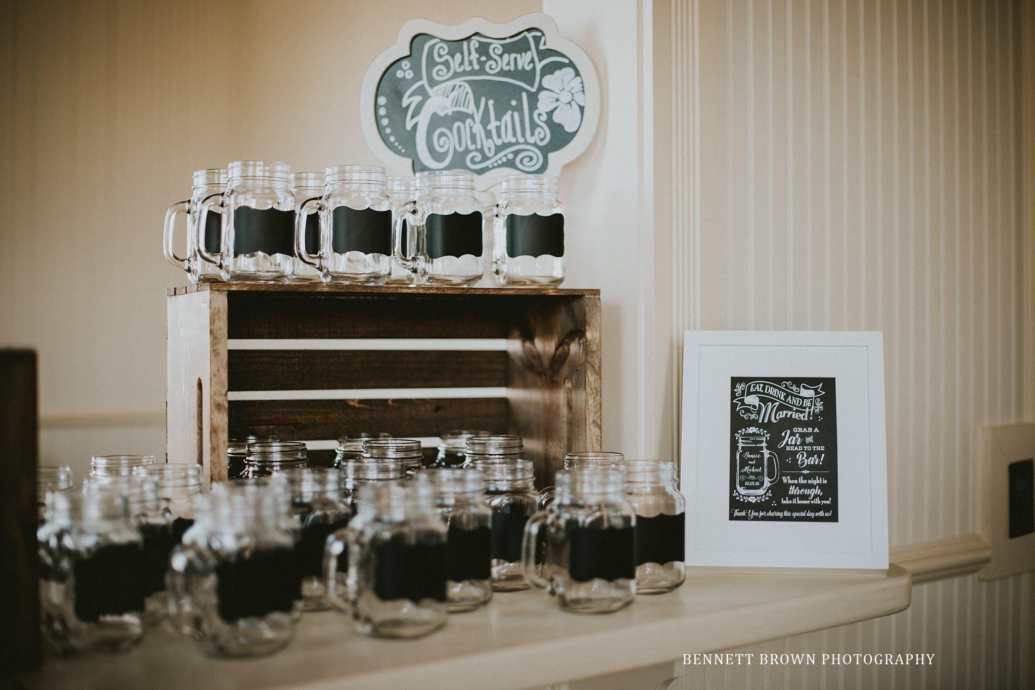 Bennett Brown Photography wedding detail reception