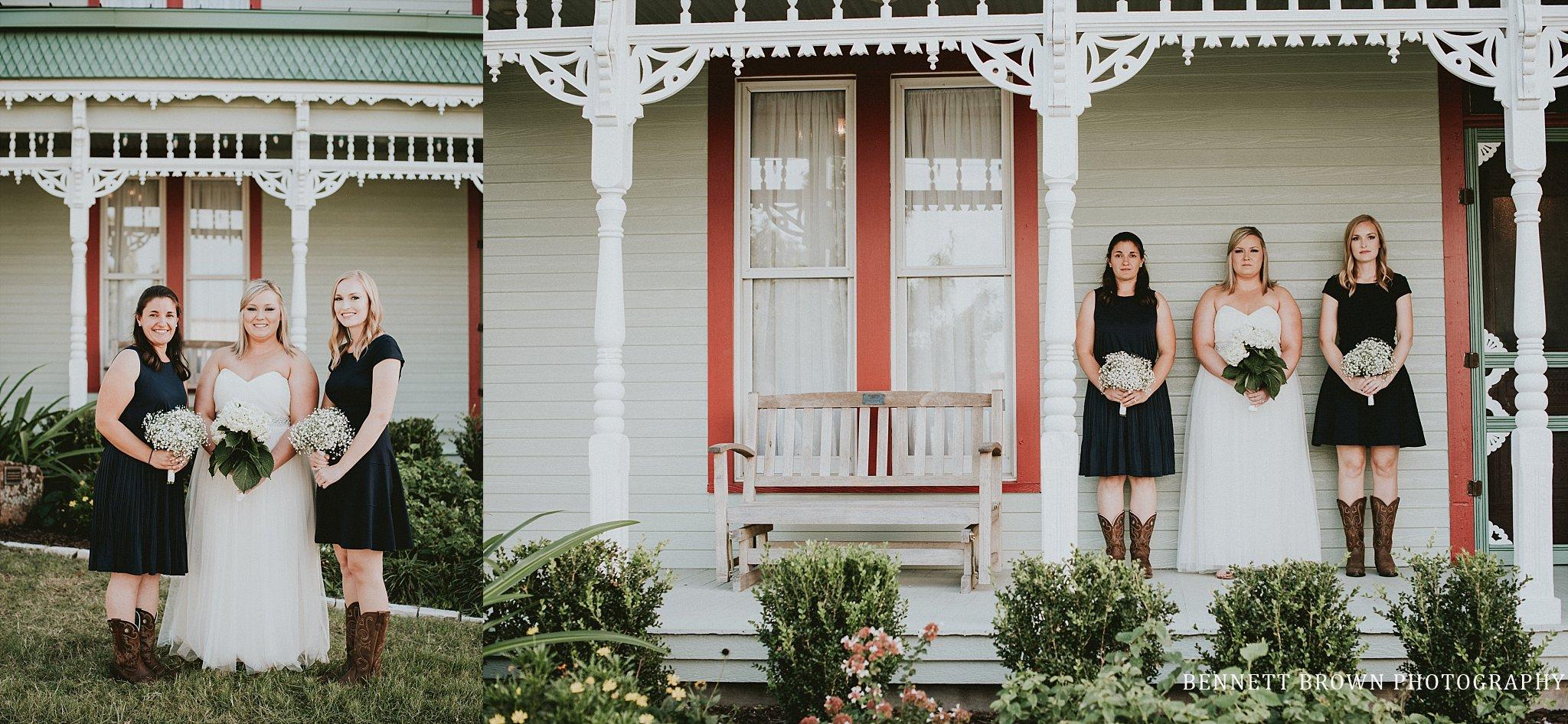 Bennett Brown Photography Frisco Texas Wedding venue Bride Bridesmaids