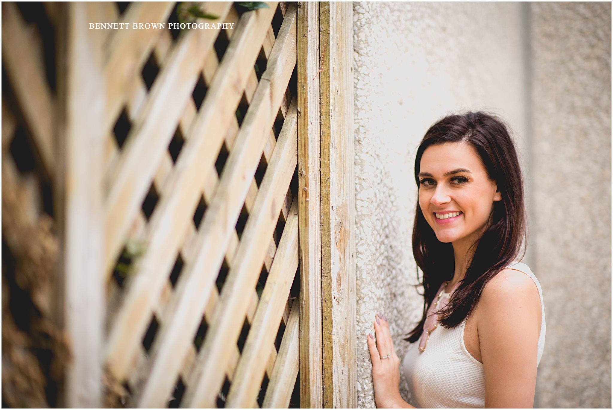 Bennett Brown Photography bride ivy engagement