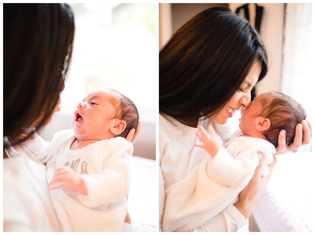 Bennett Brown photography newborn baby girl nursery Houston Texas