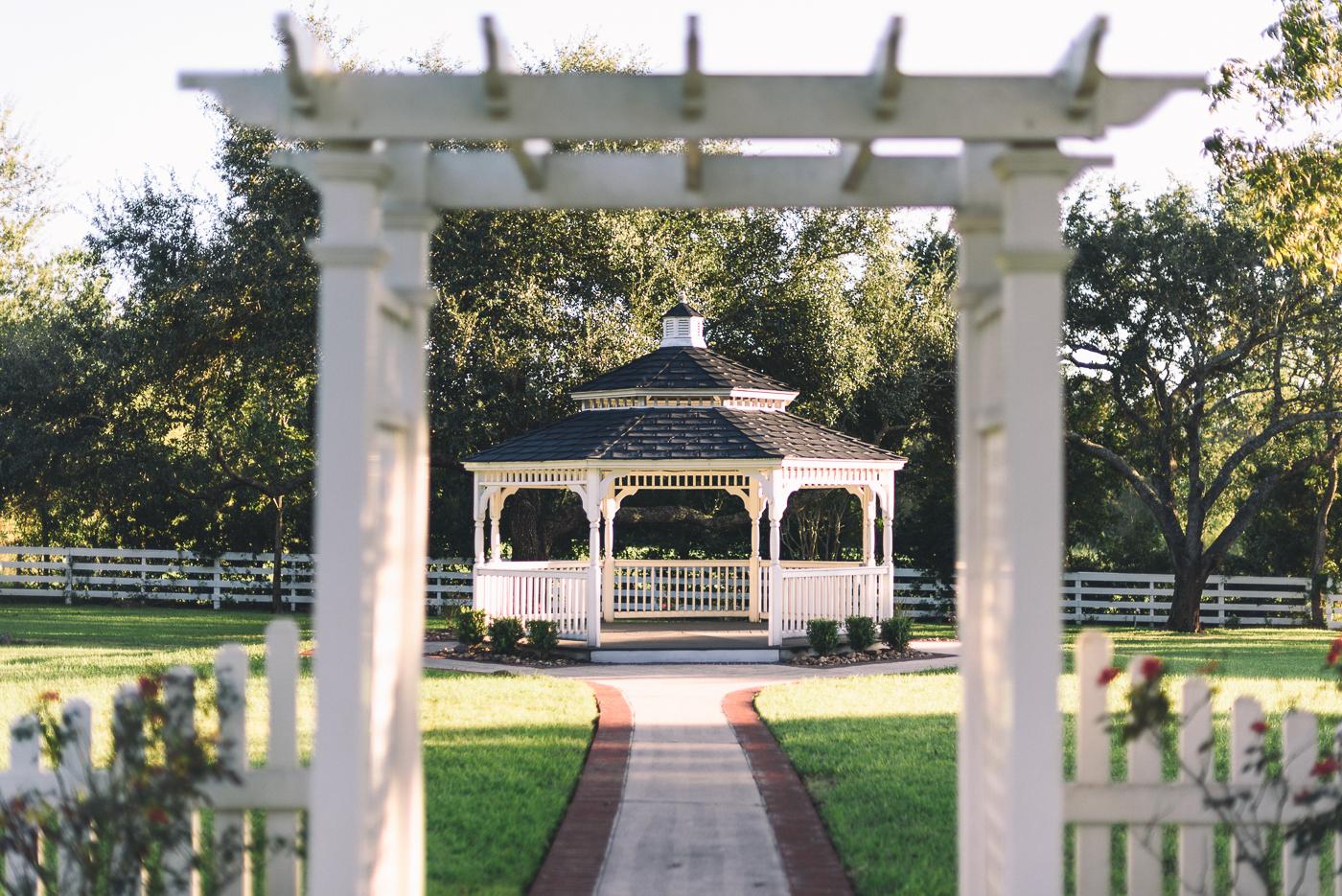 Chapel wedding ceremony alter outdoor wedding details