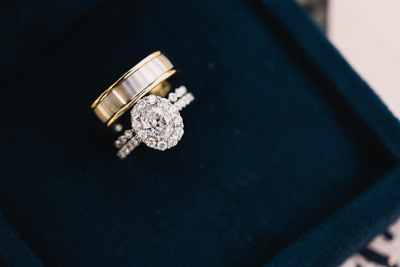 Wedding rings Ring shot ring box